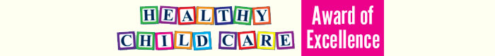 Healthy Child Care Award header