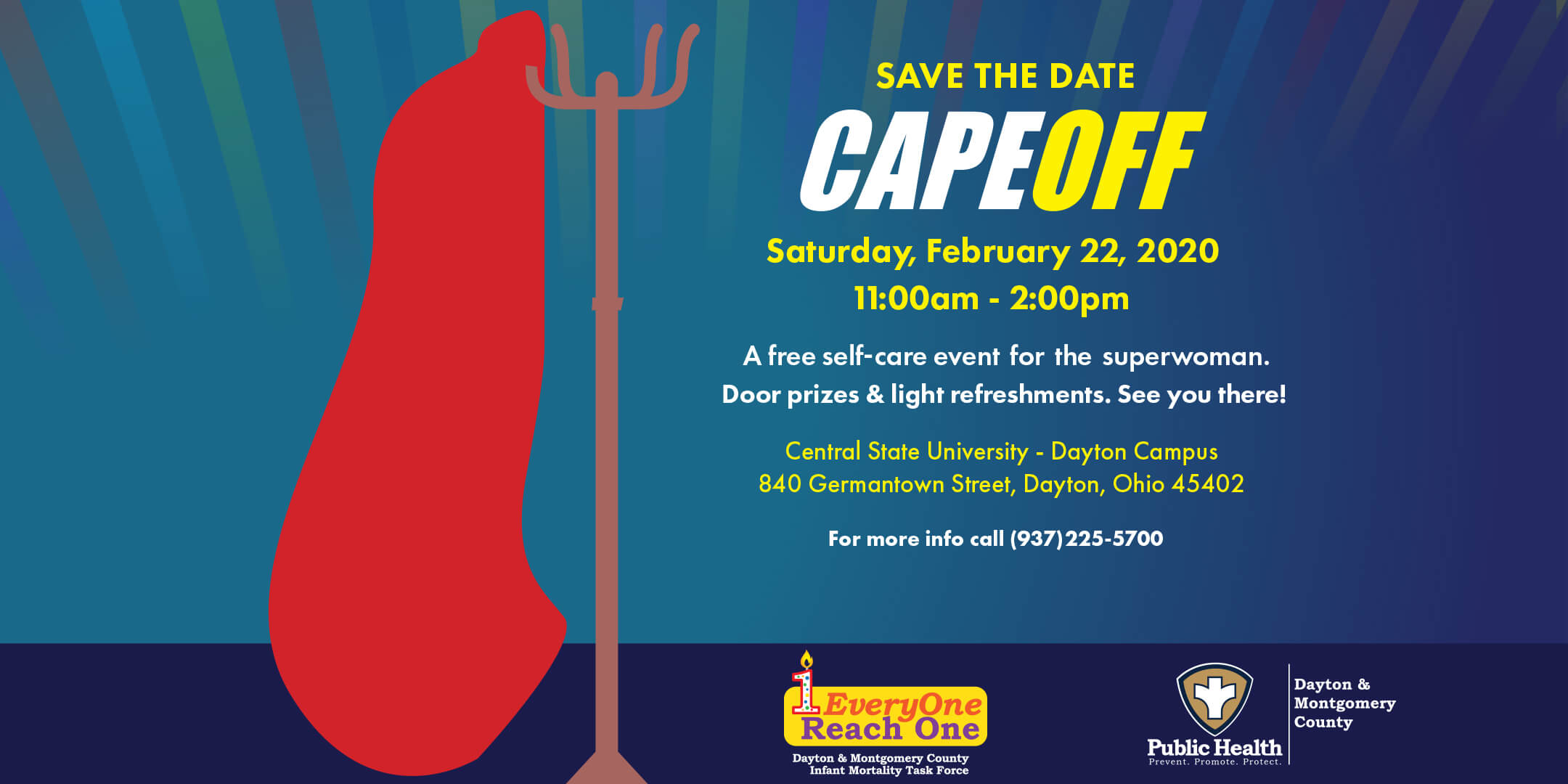 Cape Off - A Self Care Event for the Superwoman